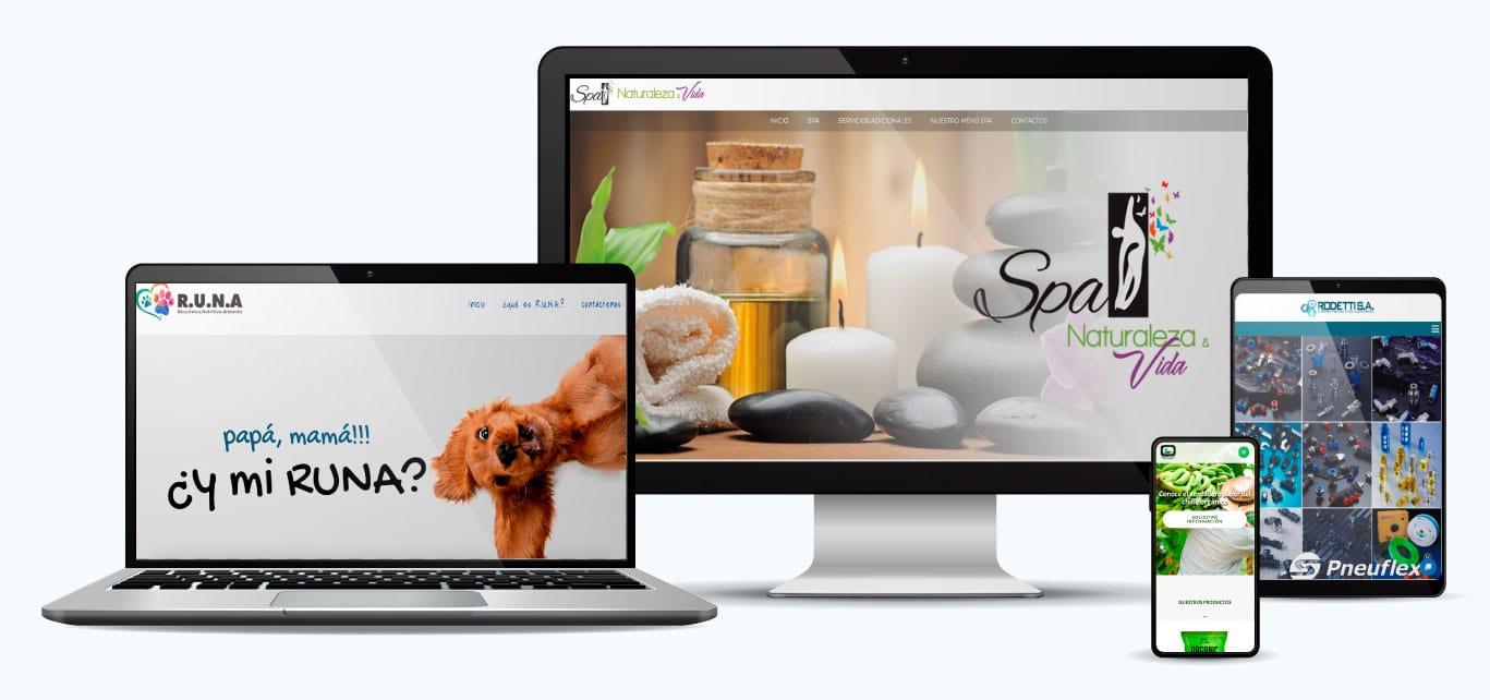 Desarrollo Web adaptable a todos los dispotivos